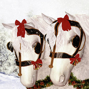 Valerie Anne Kelly -  Snowflake and Holly