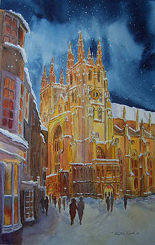 Christmas in Canterbury by Beatrice Cloake