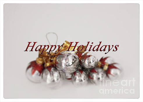 Happy Holidays by Sherry Hallemeier