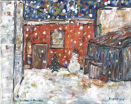 Christmas in the Alley by David Dossett