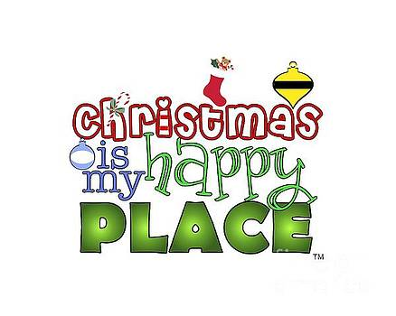 Christmas is My Happy Place by Shelley Overton