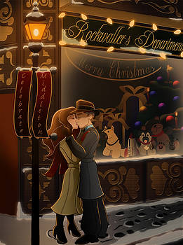 Christmas Kiss by Brittany Nelson