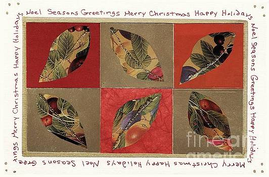 Christmas Leaves by Susan Minier