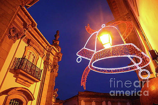 James Brunker - Christmas Lights in Viana do Castelo Portugal