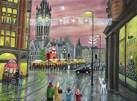 Christmas Markets, Albert Square, Manchester by Ronald Haber