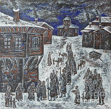 Christmas Night by Milen Litchkov