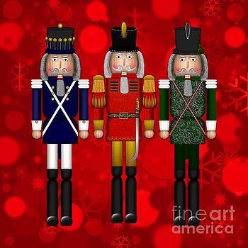 Christmas Nutcracker Trio by Margaret Newcomb