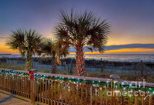 Christmas on the Beach by Matthew Trudeau