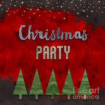 Sophie McAulay - Christmas party card design