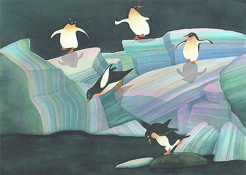 Christmas Penguins by Anne Havard