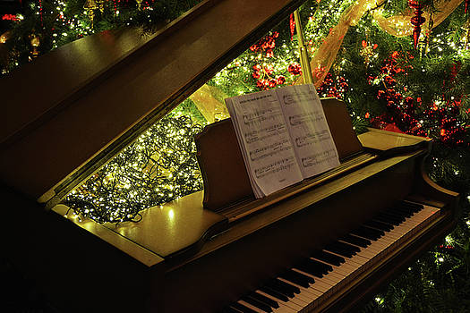 Christmas Piano 02 by Tim Stringer