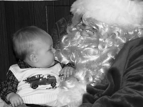 Christmas Santa by Paula Giampola