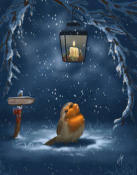 Christmas serenity by Veronica Minozzi