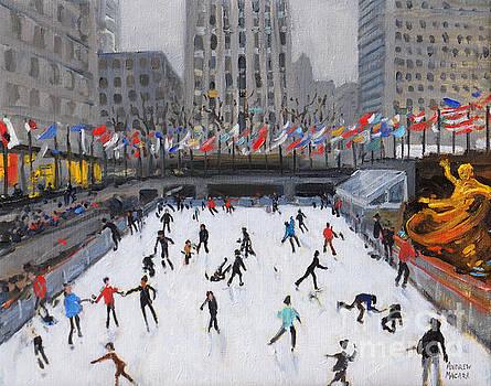 Andrew Macara - Christmas skating, Rockefeller Ice Rink, New York