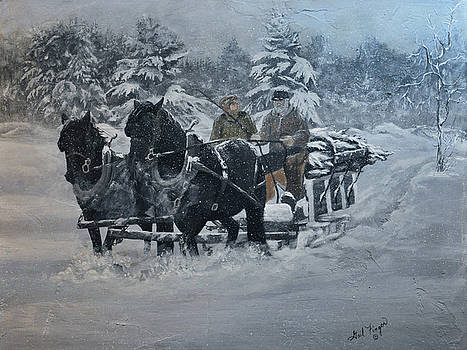 Christmas Snow by Gail Finger