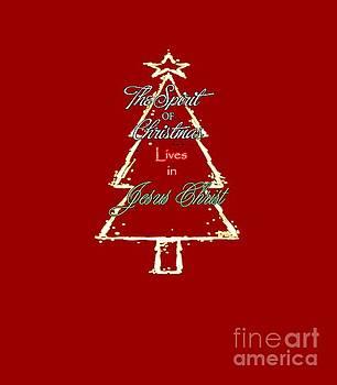 Christmas Spirit by Judy Hall-Folde