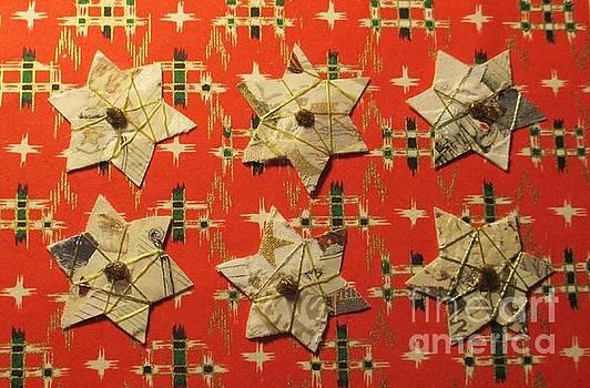 Christmas Star Card by Susan Minier