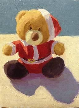 Christmas Teddy by Aurelia Sieberhagen