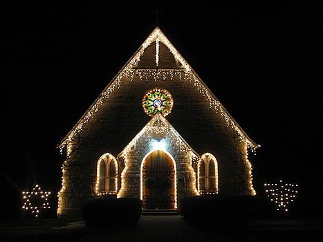 Christmas Time Chapel by Sherri Williams