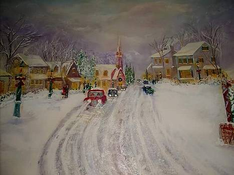 Christmas Town by Antoinette Mcfadden