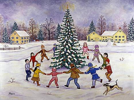 Linda Mears - Christmas Tree and Children