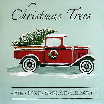 Christmas Tree Farm Sign  by Catherine Holman