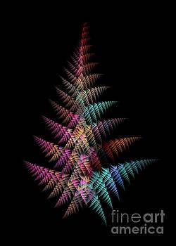 Justyna Jaszke JBJart - Christmas tree fractal art
