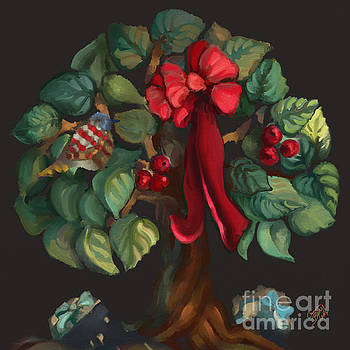 Christmas Tree of Life by Carrie Joy Byrnes