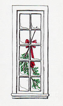 Christmas Window by Jackie Mueller-Jones