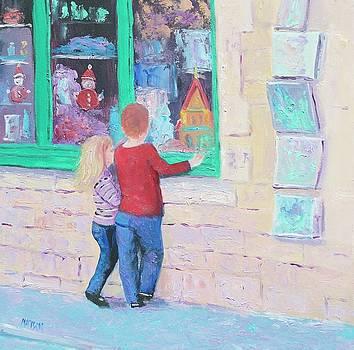 Jan Matson - Christmas window shopping