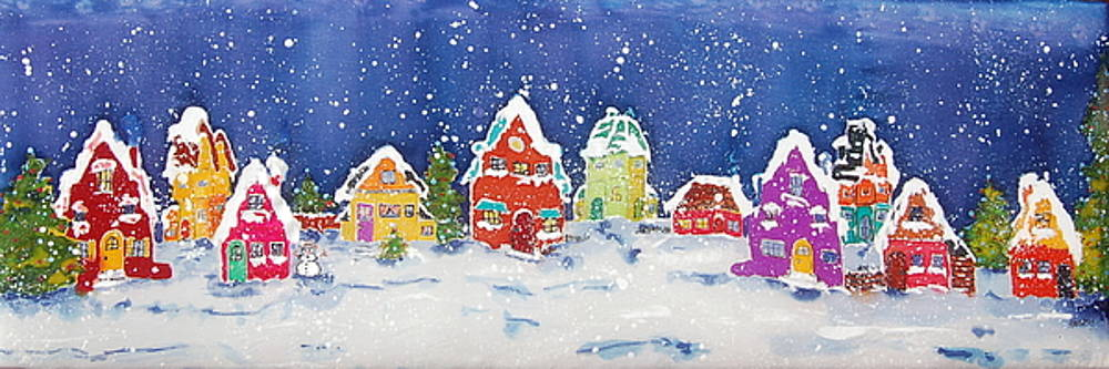 Christmas wonderland  by Henny Dagenais