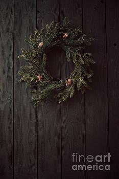 Christmas wreath by Mythja Photography