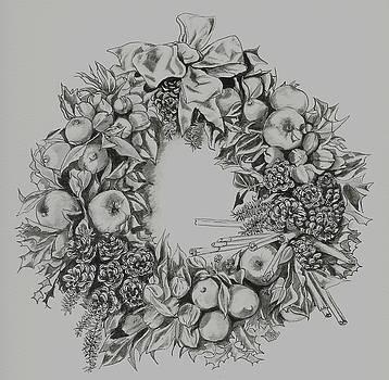 Yvonne Ayoub - Christmas Wreath