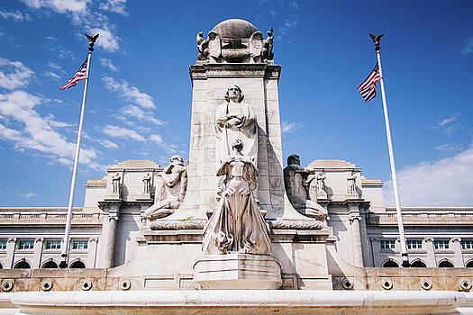 Christopher Columbus Memorial Fountain by Matt Perry