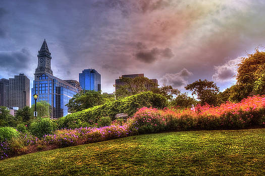 Christopher Columbus Park - North End Boston by Joann Vitali