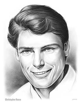 Christopher Reeve by Greg Joens