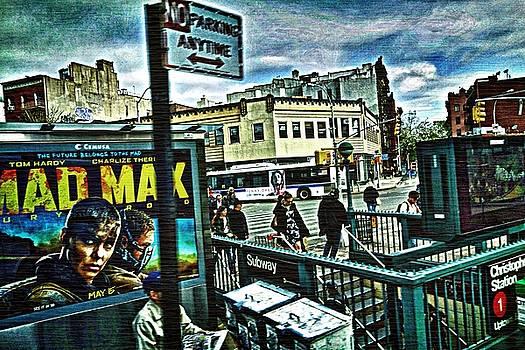 Christopher Street Greenwich Village  by Joan Reese