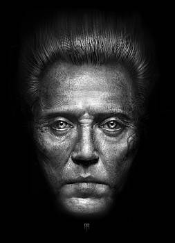 Christopher Walken by Alex Ruiz