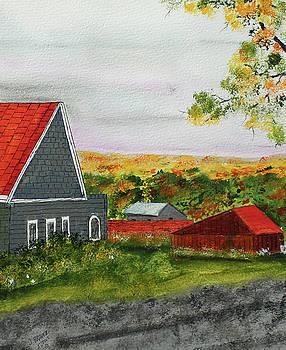 Chroboly Village by Jack G Brauer