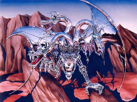 Chrome Dragon 88 by John DiLauro