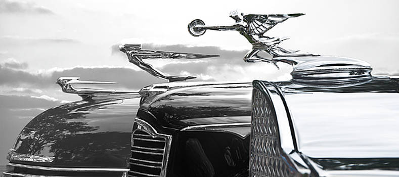 Larry Butterworth - CHROME HOOD ORNAMENTS VINTAGE CARS