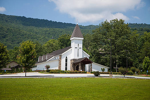 Chruch in the mountains by Seth Solesbee