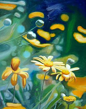 Chrysanthumums by Leonard Aitken