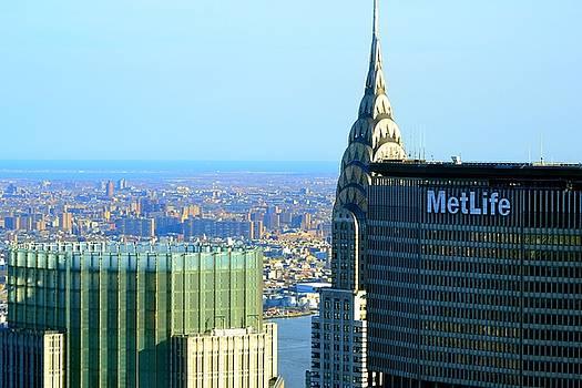 Chrysler and MetLife Buildings by Ashadd Lewis