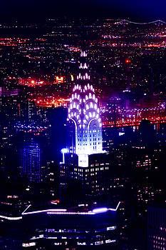 Chrysler Building At Night by Az Jackson