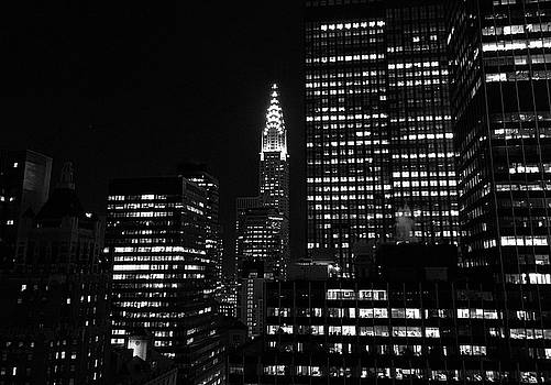 Chrysler Building from the Waldorf H by Robert Meyers-Lussier