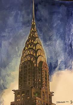 Chrysler building by Gary Springer