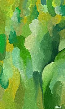 Green path by Alice Butera