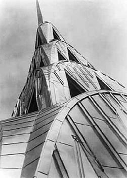 Chrysler Building - New York City by Margaret Bourke-White
