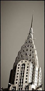 Chrysler Building New York City by Juergen Held